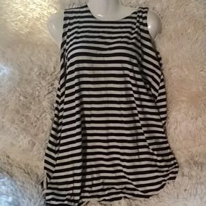 Brandy Melville striped swing dress